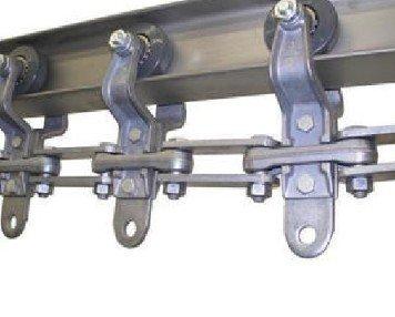 Powder coating conveyor I Beam System