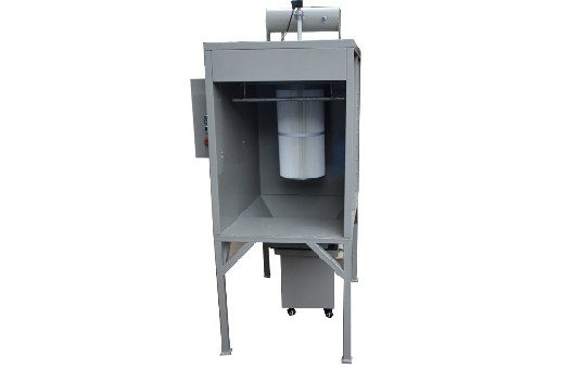 Small Batch Powder Coating Booth KL-S-0711-1