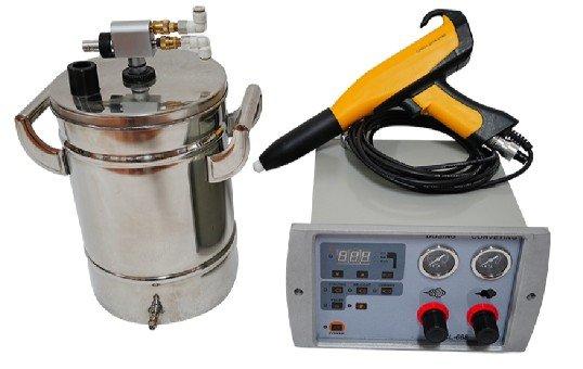 Small Powder Coating Machine