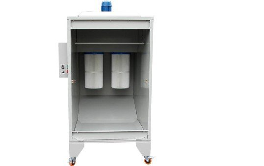 Small Powder Spray booth for Rims_Wheels KL-S-1115-1