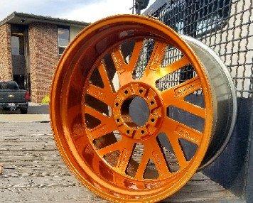 Truck Wheel Rim Powder coating