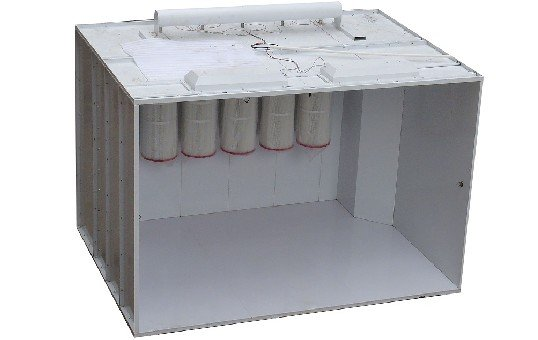 Walk-in Powder Coating Booth KL-S-3217-2