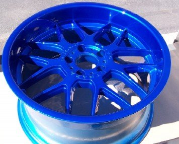 aluminum wheel powder coating