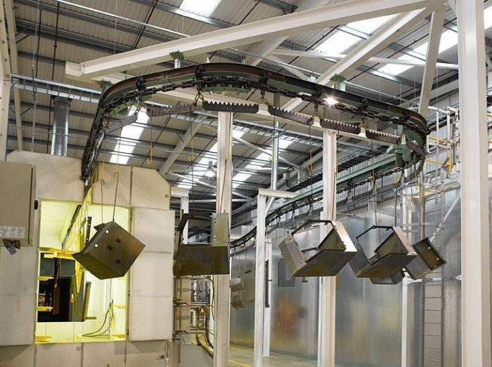 automated powder coating line 3