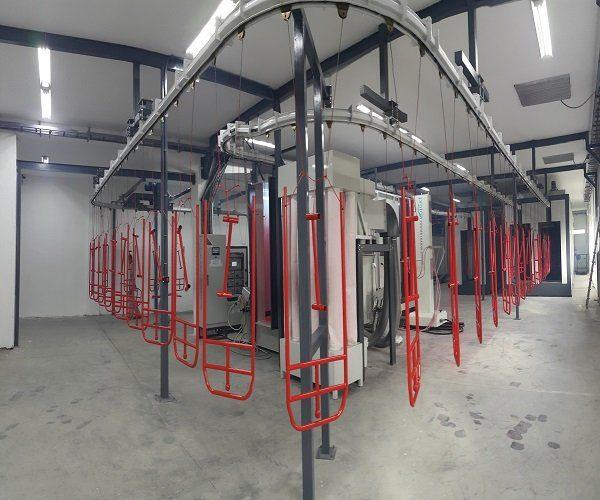automated powder coating line 4