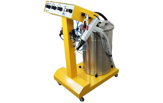 commercial powder coating gun