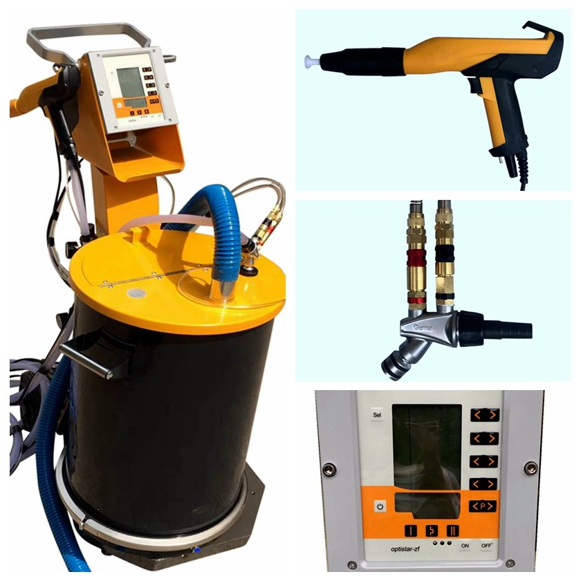 commercial powder coating system