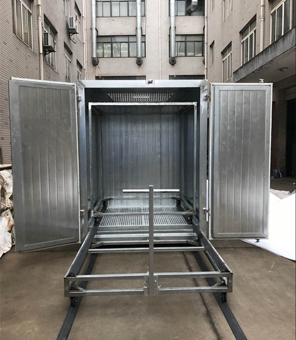 curing oven Inside