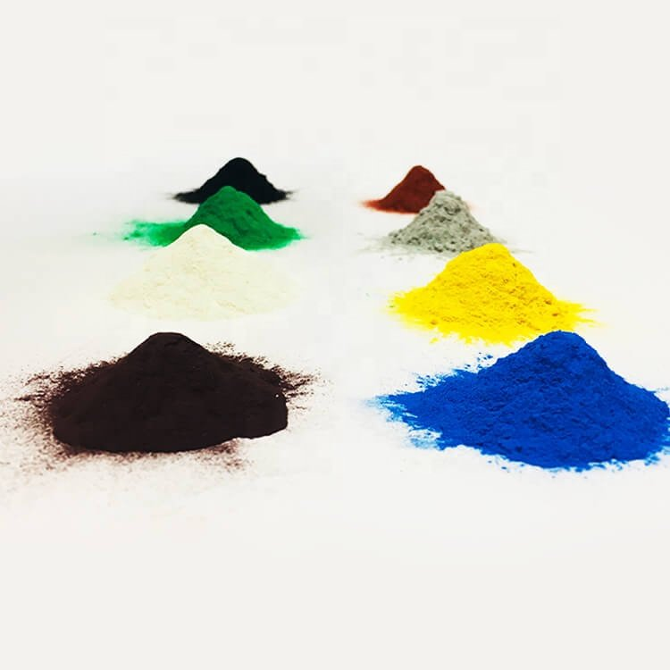 different color powders