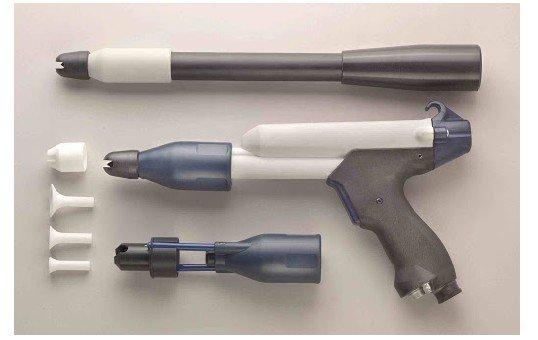 eurotec powder coating gun parts