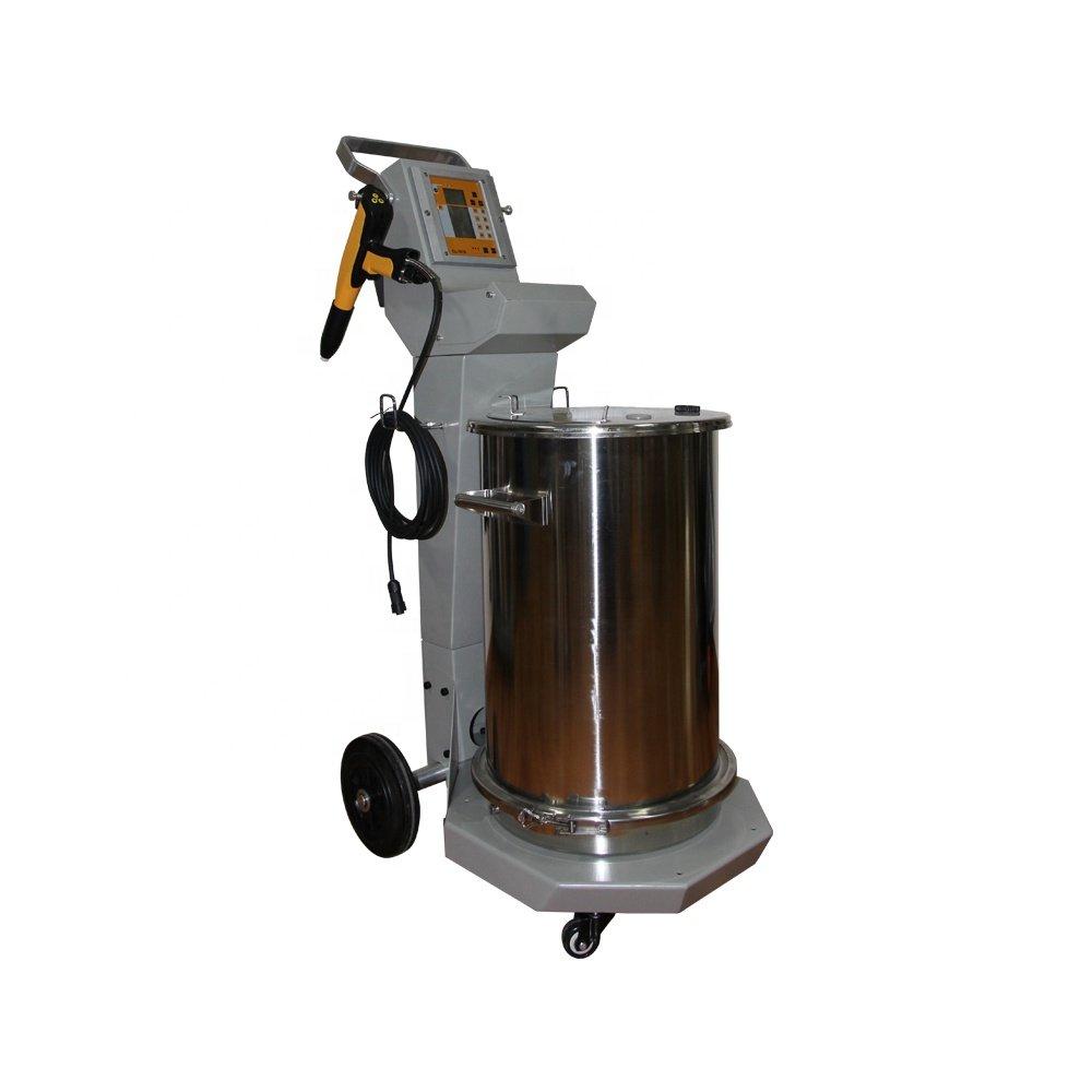 fluidized bed powder coating machine 1