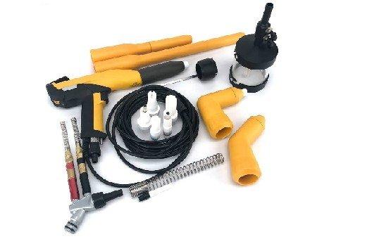 gema powder coating gun parts