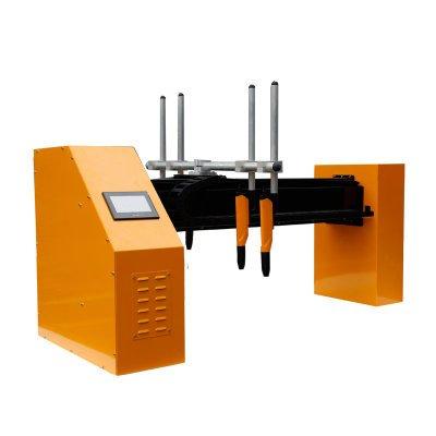 horizontal powder coating machine