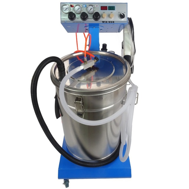 manual powder caoting machine