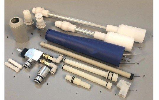 nordson powder coating gun parts