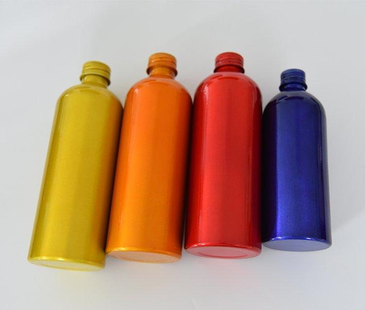 powder coated bottles