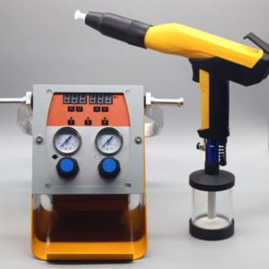 powder coated cup gun
