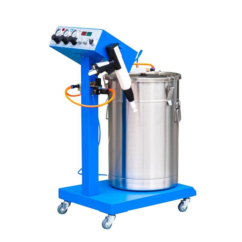 powder coater machine use