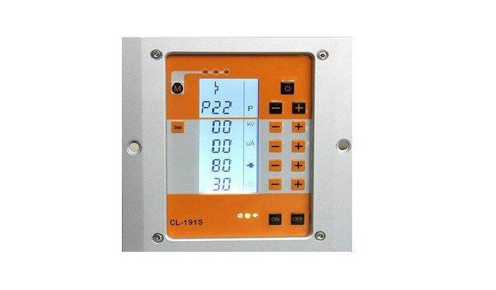 powder coating machine control system