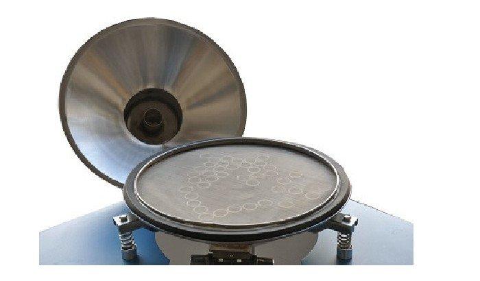 powder coating machine fluidize bed