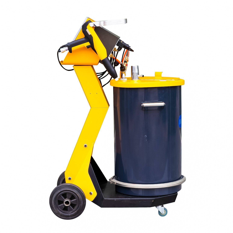 powder coating machine with gun