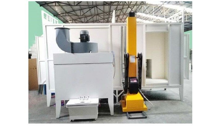 powder coating machine workshop