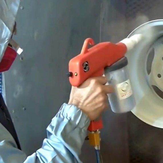 powder coating procedure