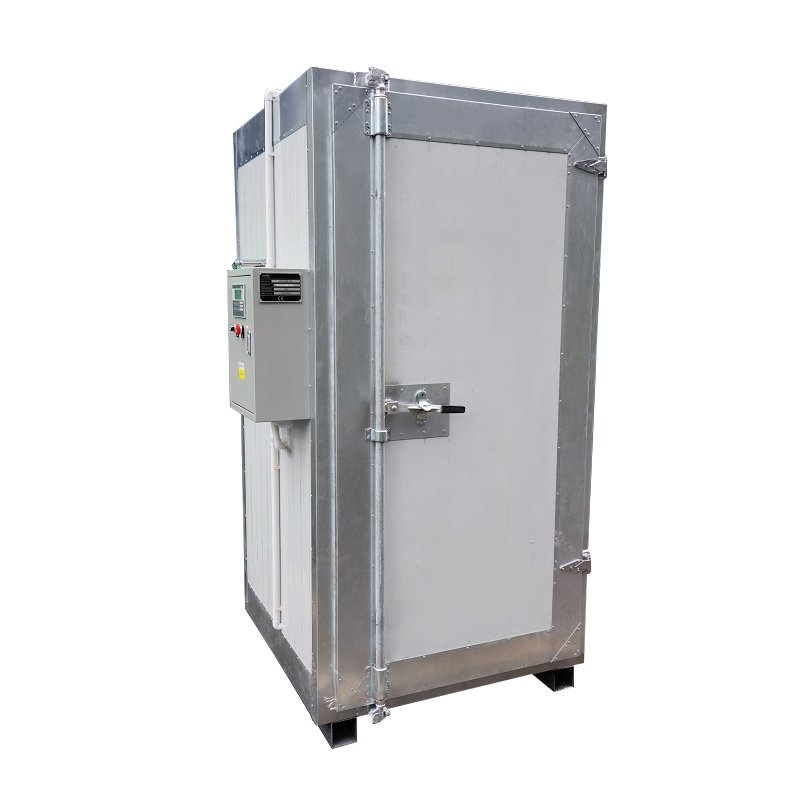 powder curing oven exterior