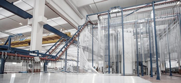 vertical powder coating line 3