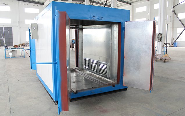 Powder coat oven 4X4X6 2