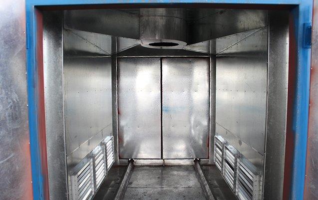 Powder coat oven 4X4X6