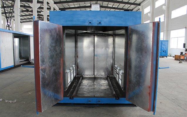 Powder coat oven 8X8X10 3