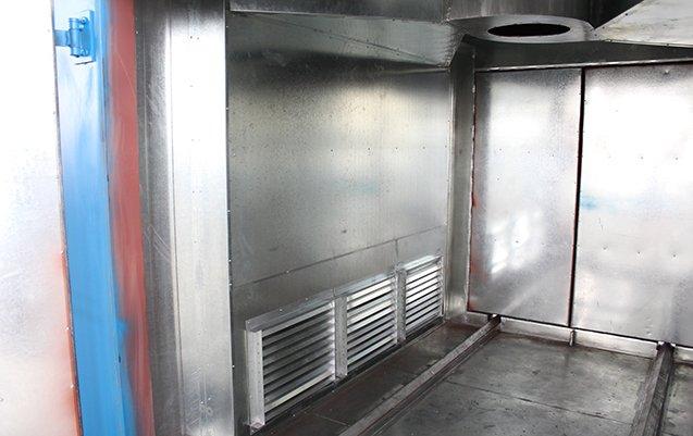 Powder coat oven 8X8X10