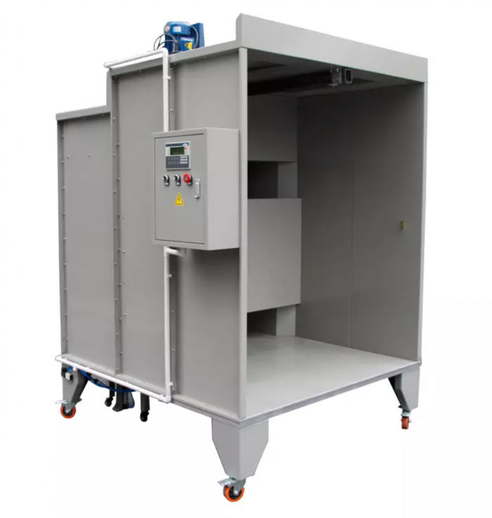 portable powder coating booth 2