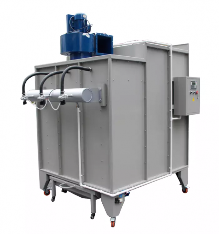 portable powder coating booth 3