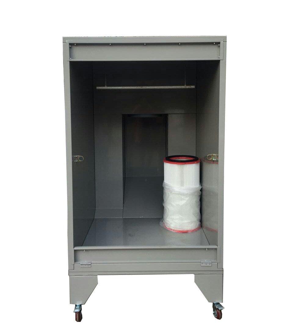portable powder spraying booth 4