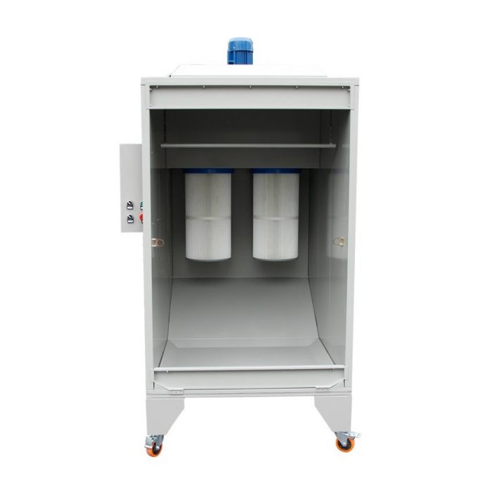 powder coating booth 2